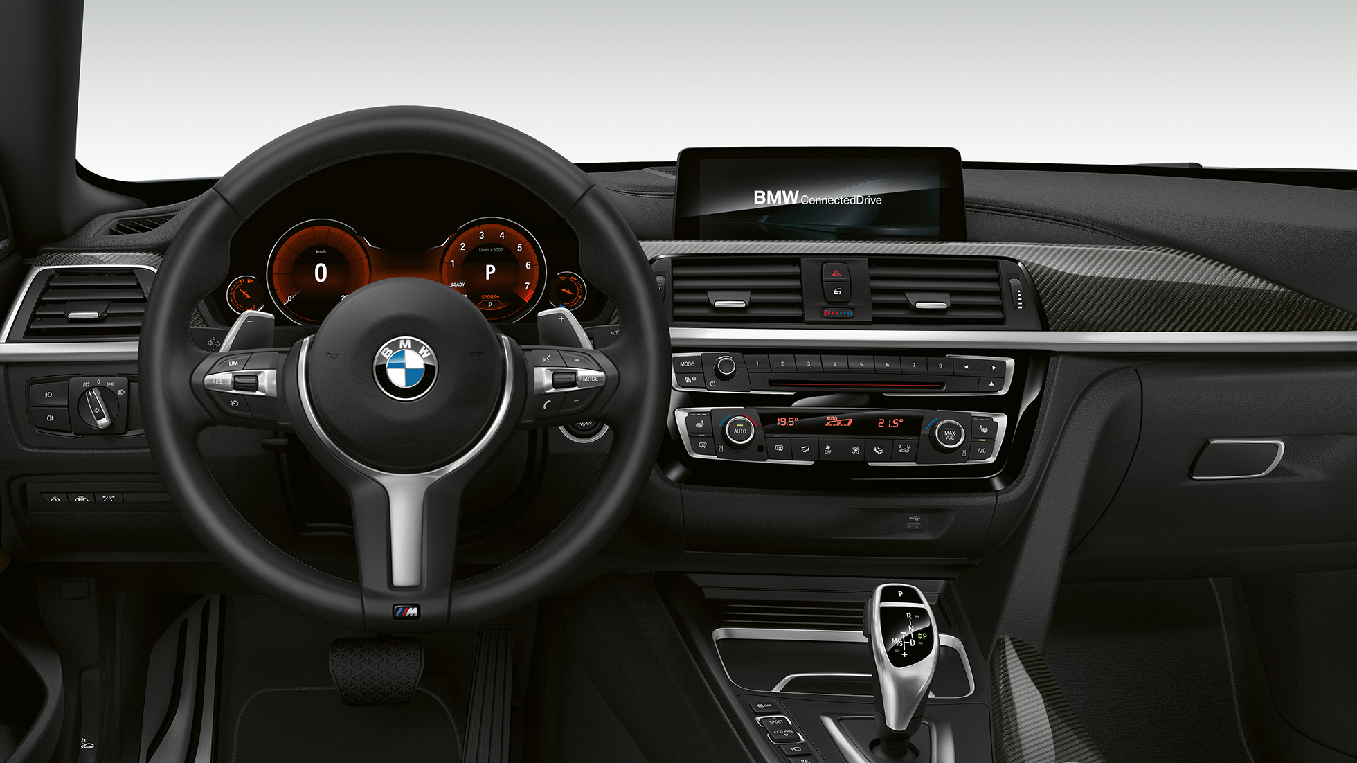 BMW 4 Series Gran Coupé,M Sport 駕駛艙