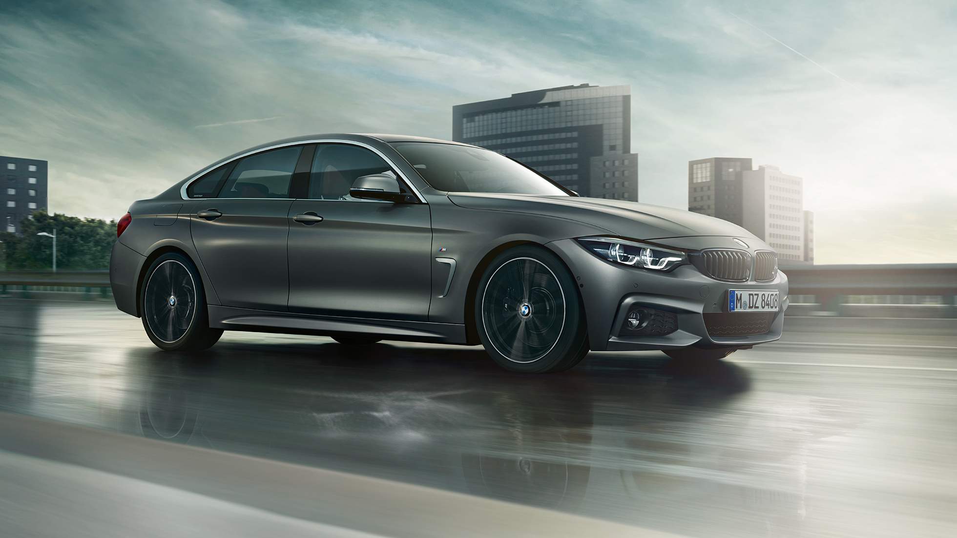 BMW 4 Series Gran Coupé, lateral driving shot