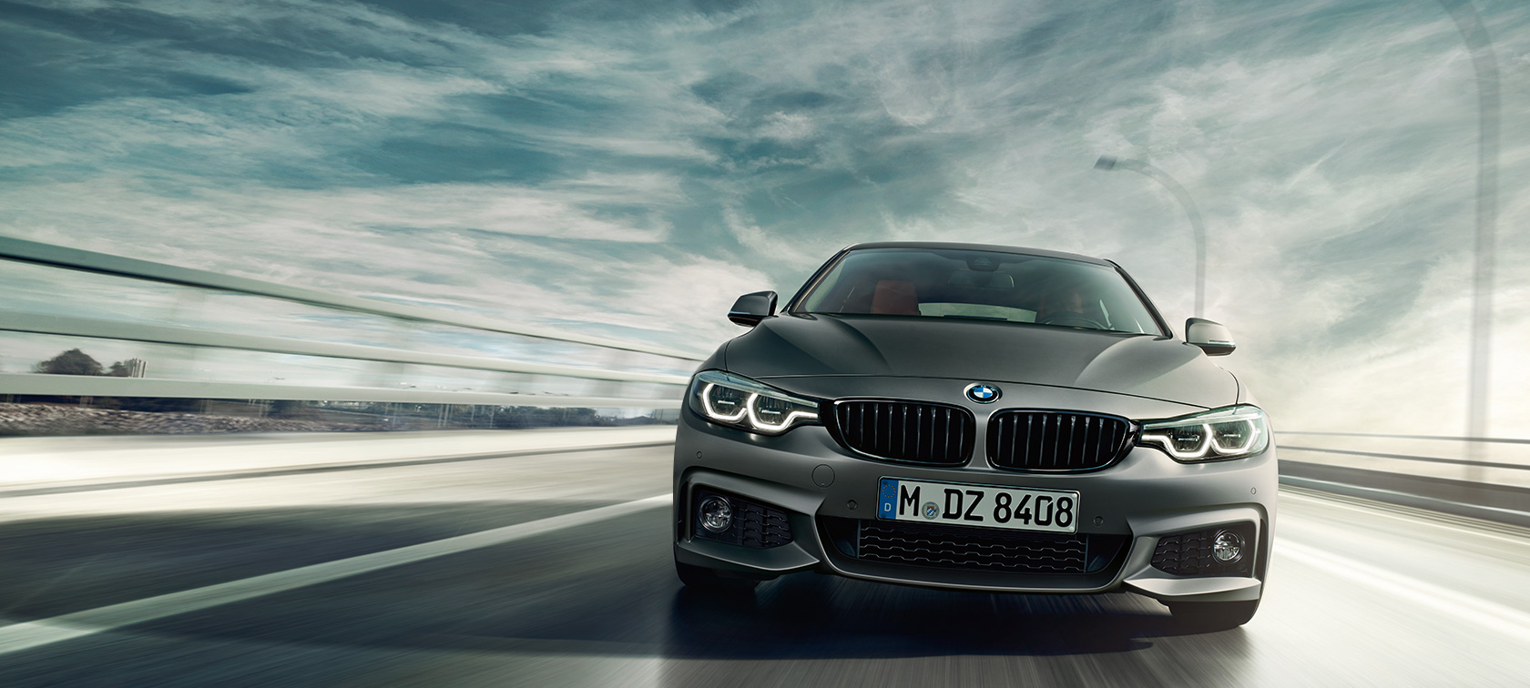 BMW 4 Series Gran Coupé driving shot