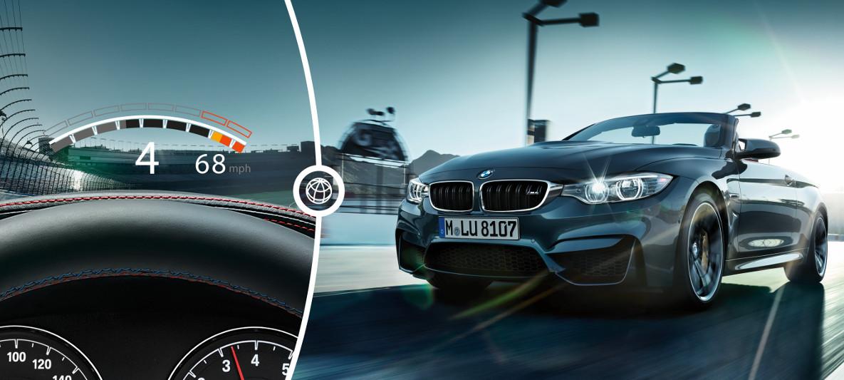 BMW M4 Convertible : Driver Assistance